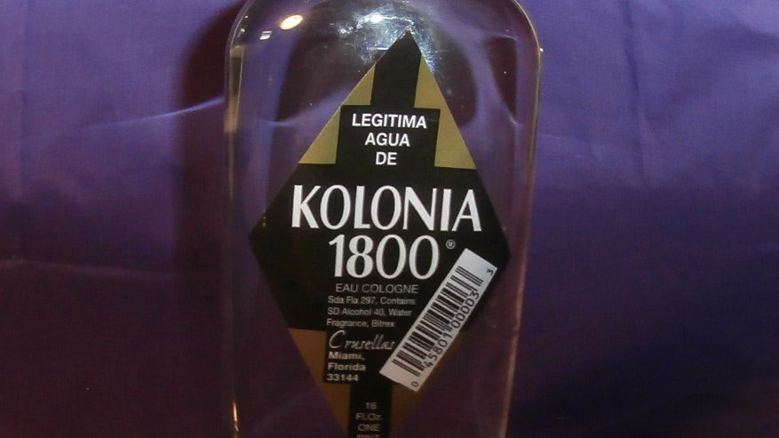Crusellas & Co. Original 1800 Cologne / Kolonia 1800 16 fl oz