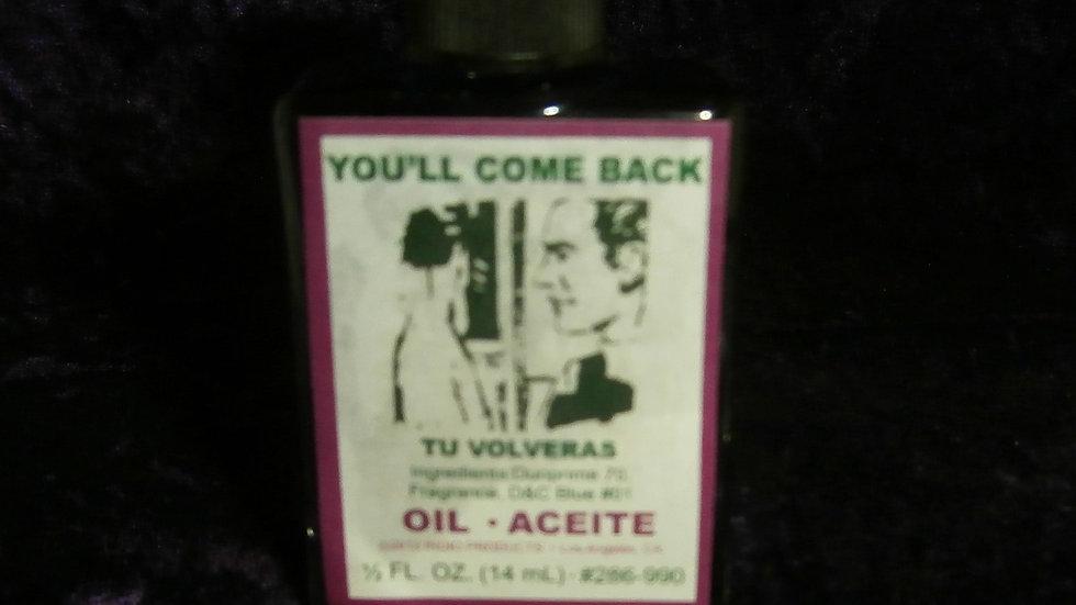 INDIO - You'll Come Back Oil / Tu Voleras Aceite