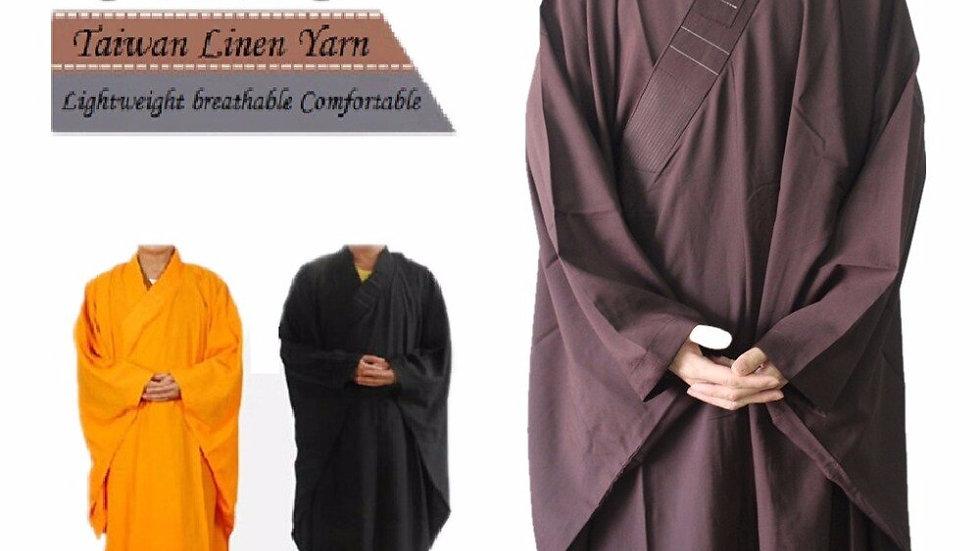 Shanghai Story Unisex High Quality Shaolin Temple Zen Buddhist Robe