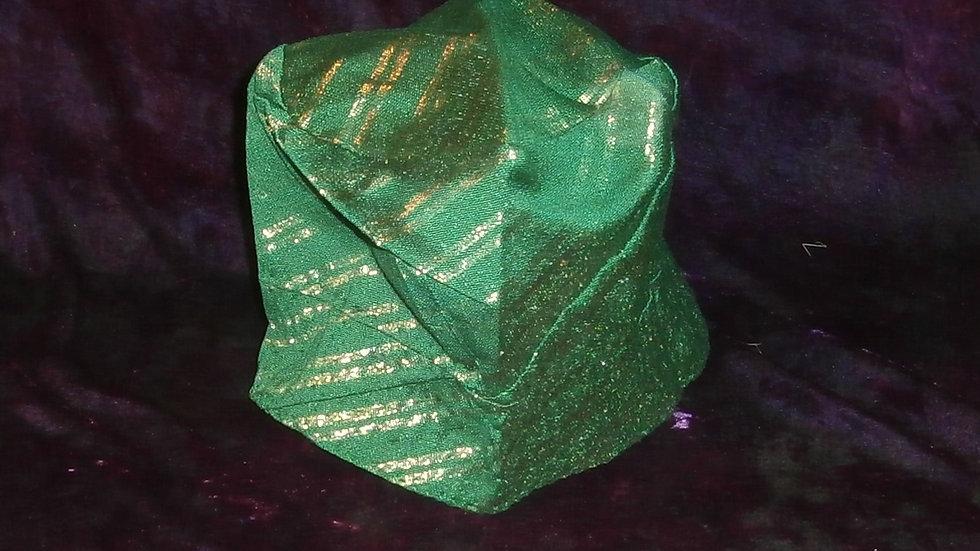 Aso Oke Hat in Green