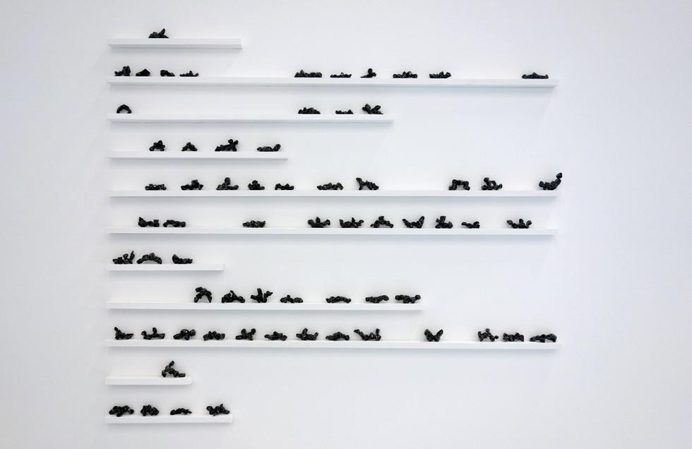 'Sculpture de poches' (série noire) 2014- 2020