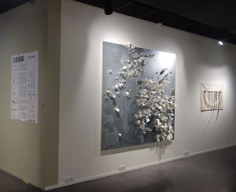 'Lisière' galerie d'art contemporain Le MIX, Mourenx, 2020