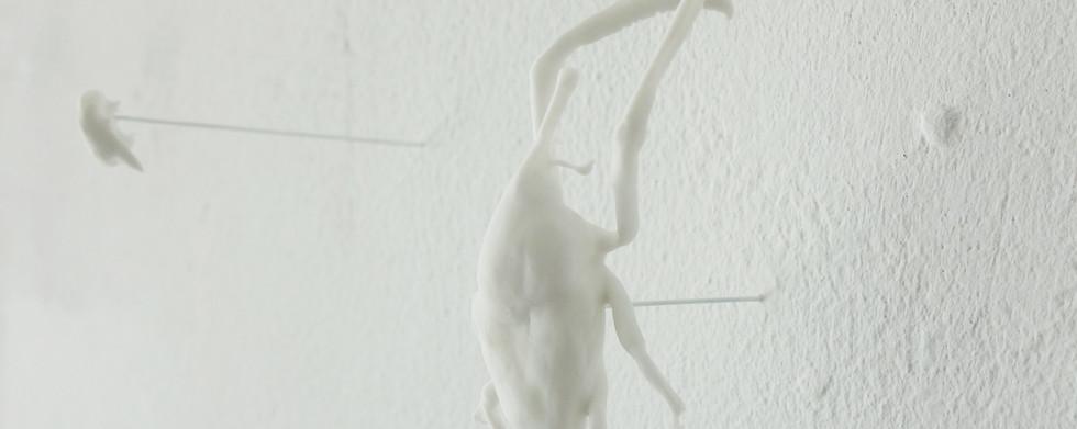 'Exuvie' série (détail) 2014 - 2020