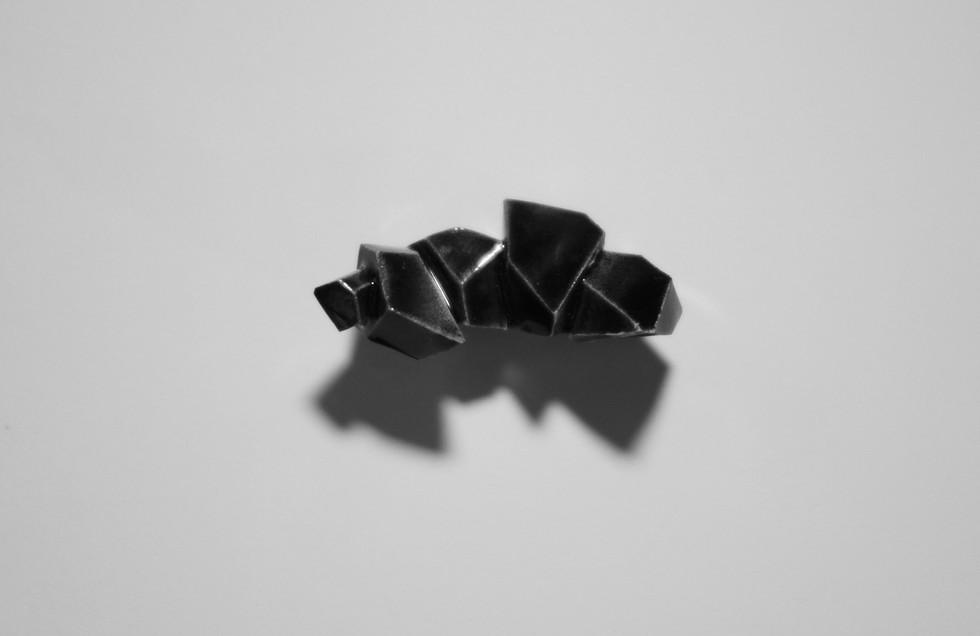 'Sculpture de poches' (série noire) 2014-2020