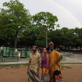 World Premiere with rainbow!