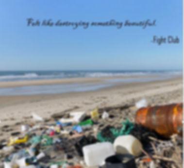 titleshout_polluted beach_Fabien Monteil