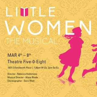 Poster for Little Women, The Musical