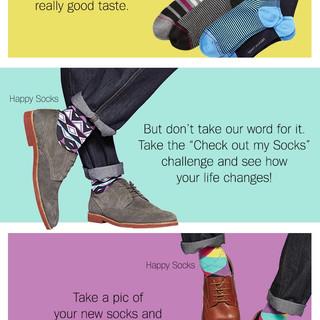Men's Socks Email Design