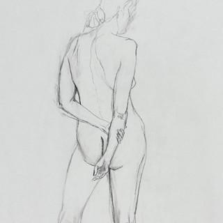 Chalk & Pencil on Paper