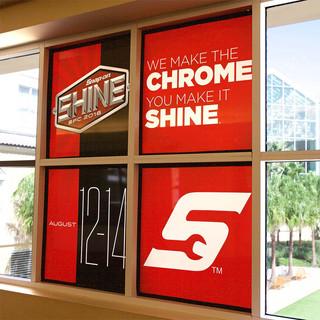 Window Cling Design