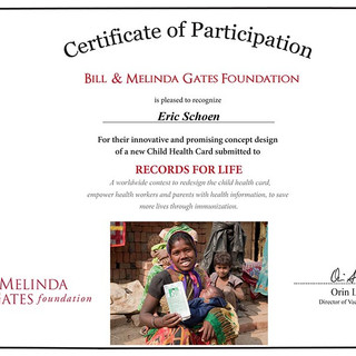Official Certificate of Participation