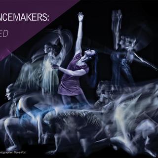 New Dancemakers: Inscribed In Us Postcard