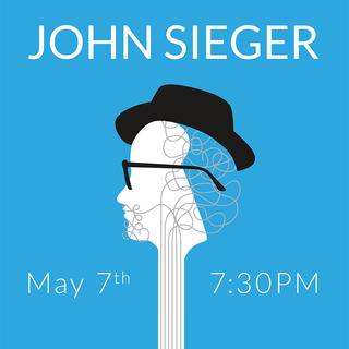Poster Design of John Sieger Performance