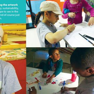 Area Kids Making Art