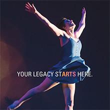 Brochure Design for UWM Peck School of the Arts Dance Season 2015