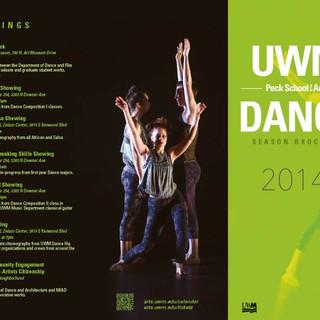 UWM 2014/15 Dance Season Brochure - Outside
