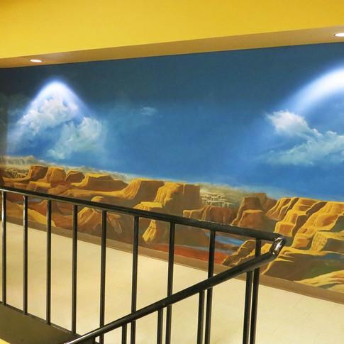 Canyon Mural in Surroundings