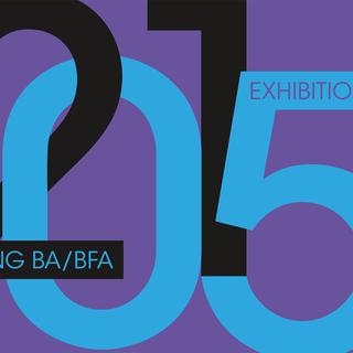 Spring BFA Exhibition 2015 Postcard