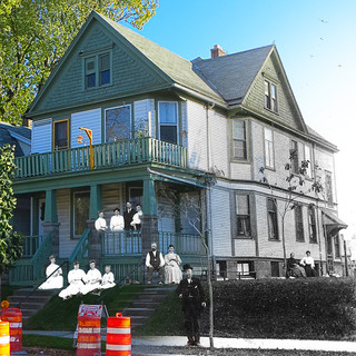 611 E Locust St. - Fred Herrer House