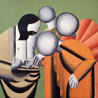 The Doubting of Leger Tryptich - Panel 3