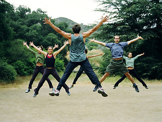Fighting fatigue and jumping for joy