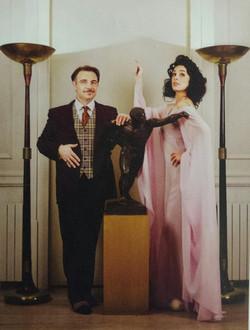 Charles and Elvira Contomine
