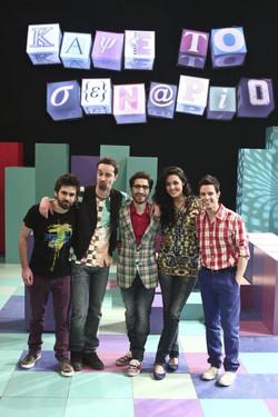 Backstage photo