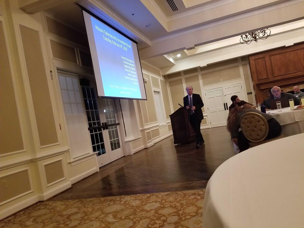 George Mason University Cyber Security Innovation Forum - Polito