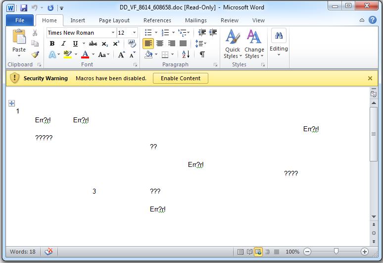 The Simplicity of VBA Malware - 6