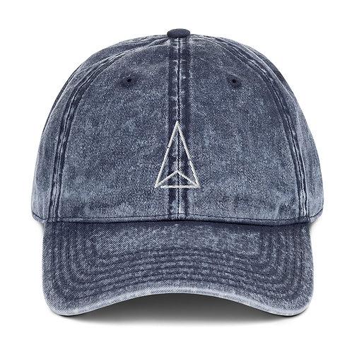 Vintage Cap Logo White