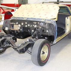Chevrolet Chevelle Restoration Process
