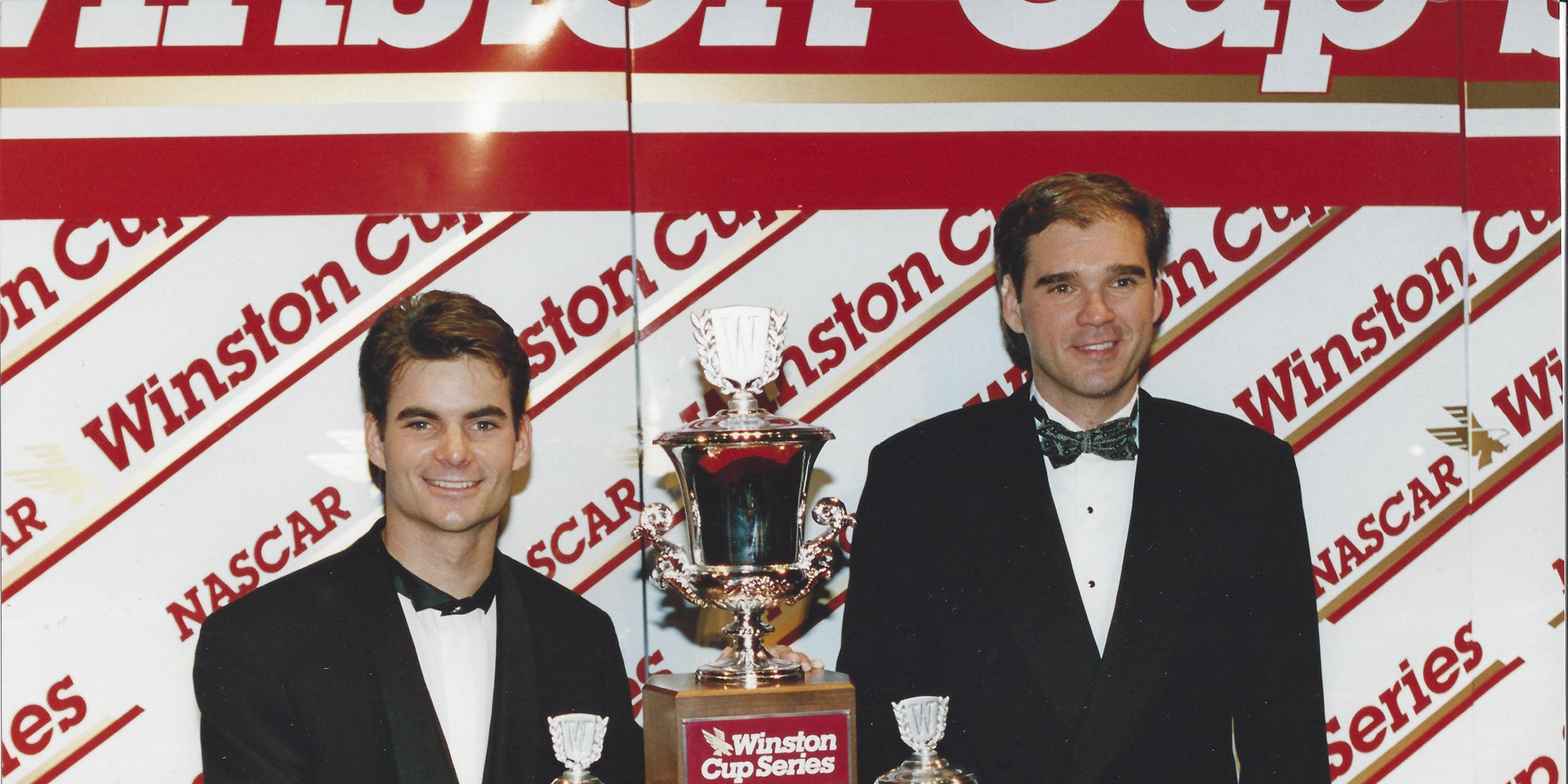 Ray and Jeff - Banquet 1995 Champs.jpg