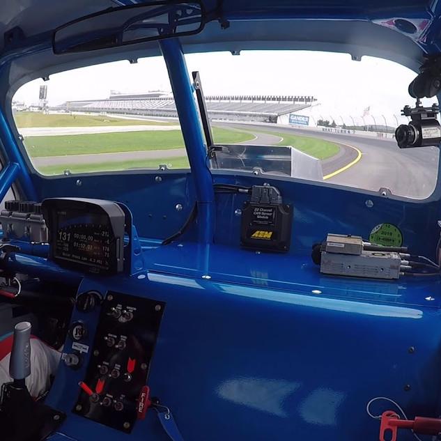 In-Car Video of 200 mph Run at Pocono