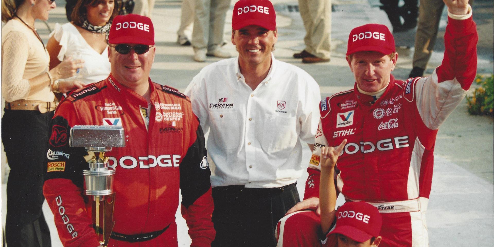Ray and Bill Elliott -2002 Brickyard Win