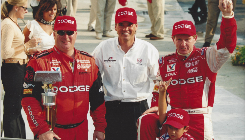 Ray and Bill Elliott -2002 Brickyard Win