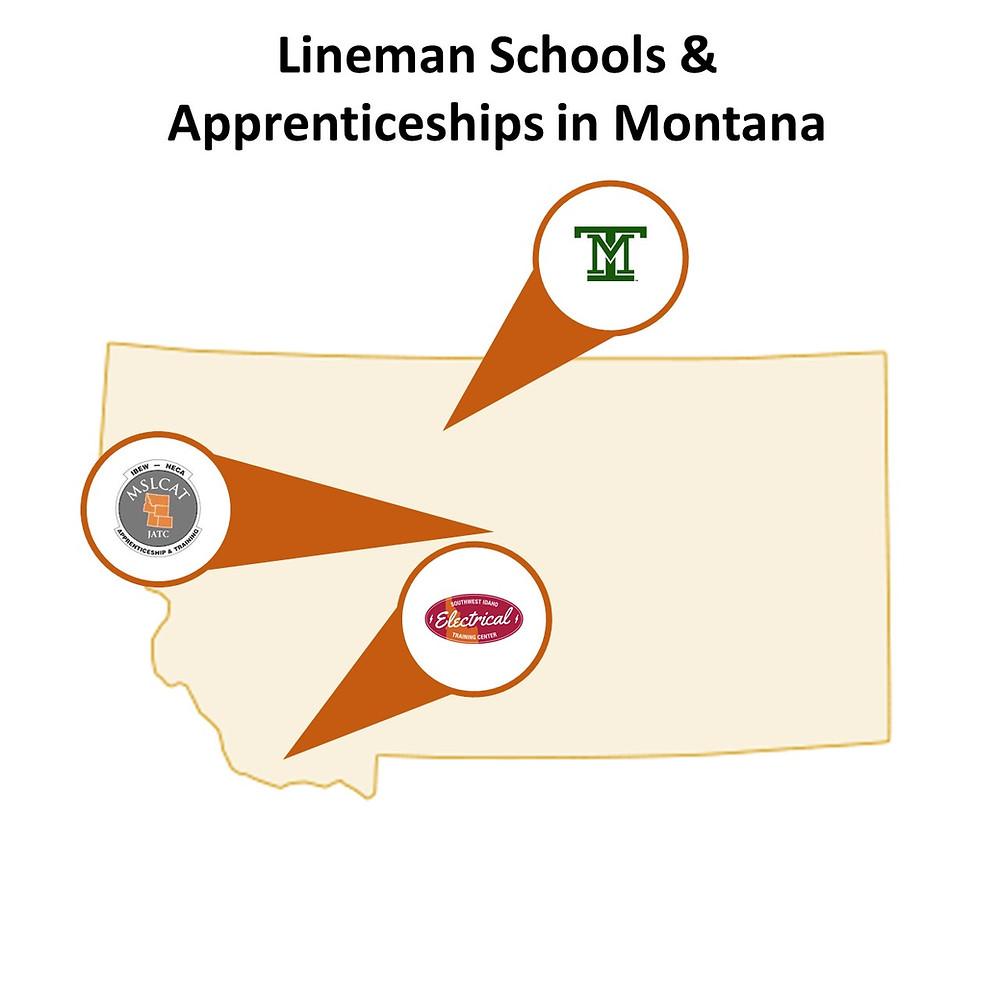 Lineman Apprenticeships in Montana