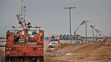 Lineman in Saskatchewan
