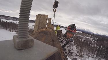 Lineman in Alaska