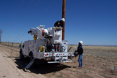 Lineman in New Mexico