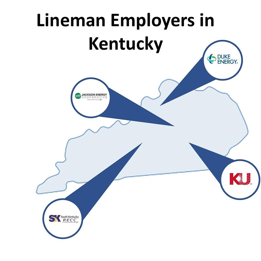 Lineman jobs in Kentucky