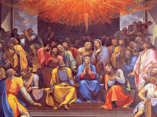 Pentecost (and a Financial Update)