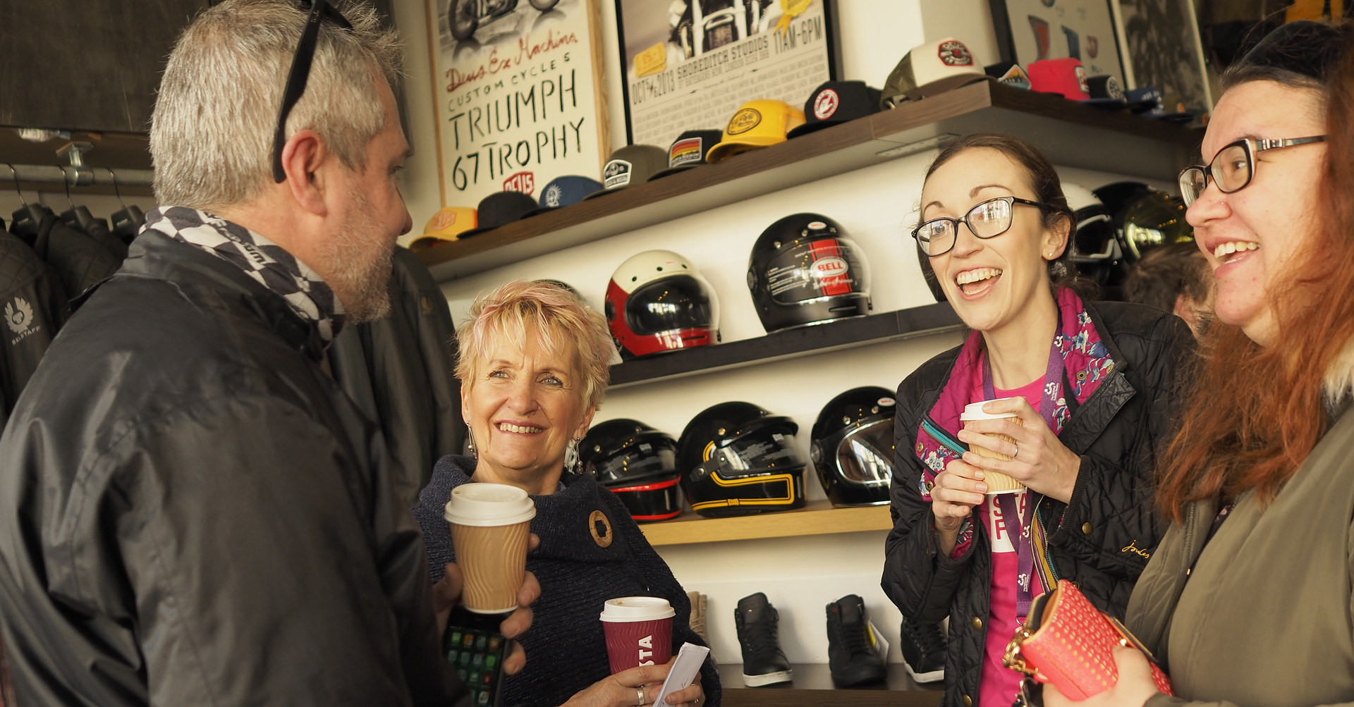 The cafe racer store Brighton