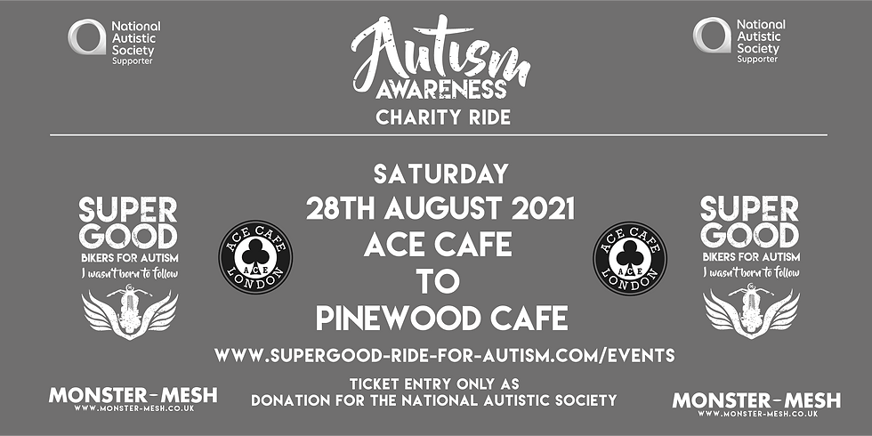 AUTISM SUPERGOOD RIDE OUT  -  LONDON 2021