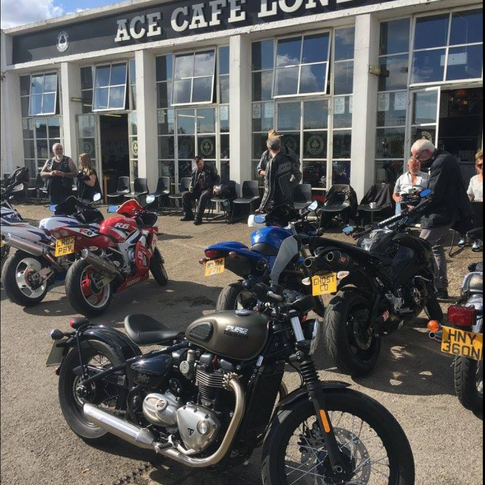 The Ace Cafe 2017 ride for Autism
