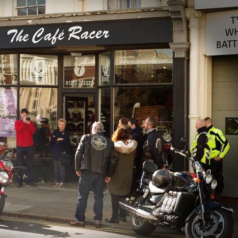 The cafe racer, original store