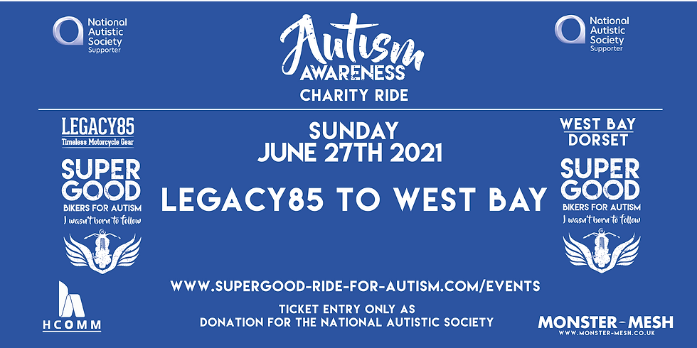 AUTISM SUPERGOOD RIDE OUT - Legacy to West Bay  -  2021