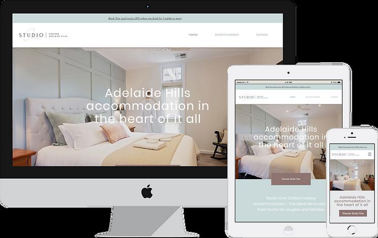 BnB Accommodation Adelaide Hills, Crafers Web Design