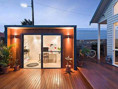 Creating Modern Contemporary Garden Rooms