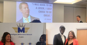 JT Foxx's incredible conference in Paris !