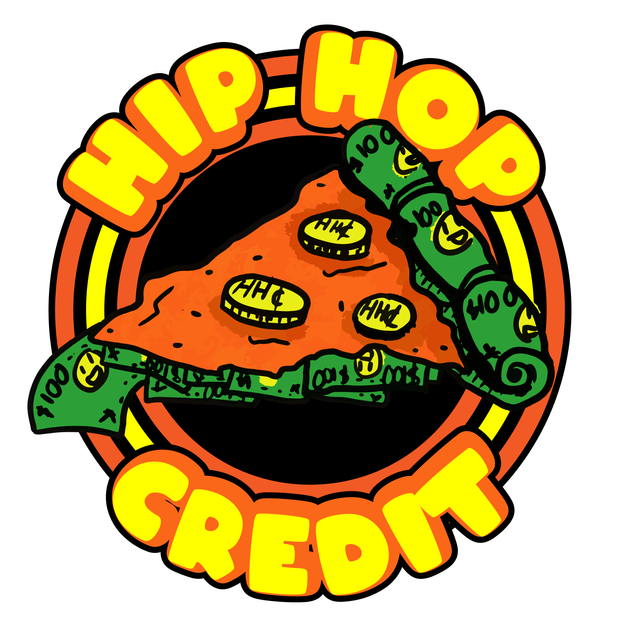 Hip Hop Credit - Pizza Logo